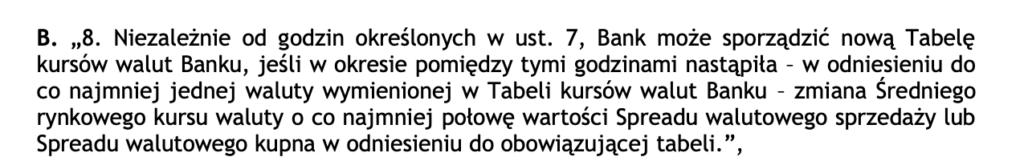 BNP Paribas Tabela kursów walut Banku. BNP Paribas kształtowanie kursów walut. BNP Paribas pozew frankowicze.